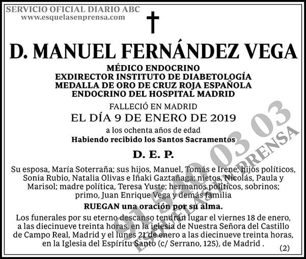 Manuel Fernández Vega