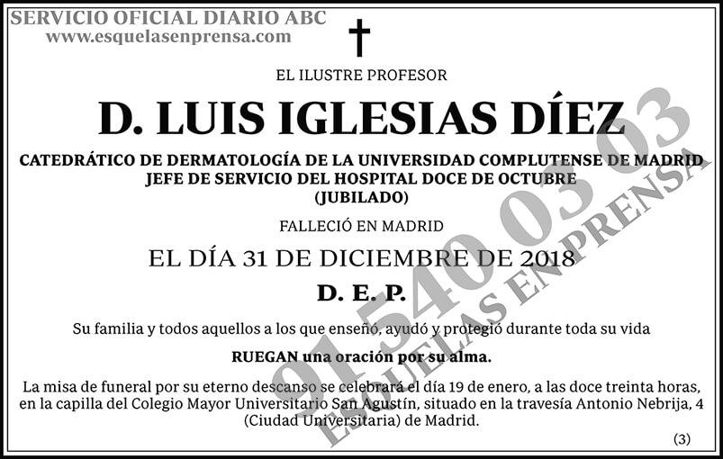 Luis Iglesias Díez