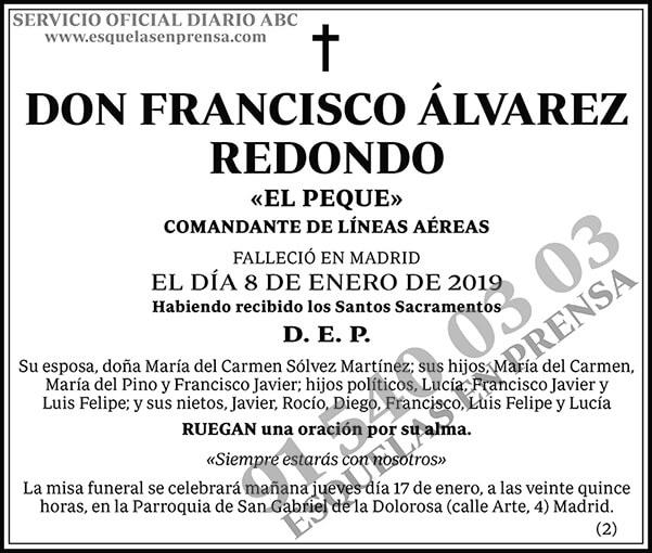 Francisco Álvarez Redondo