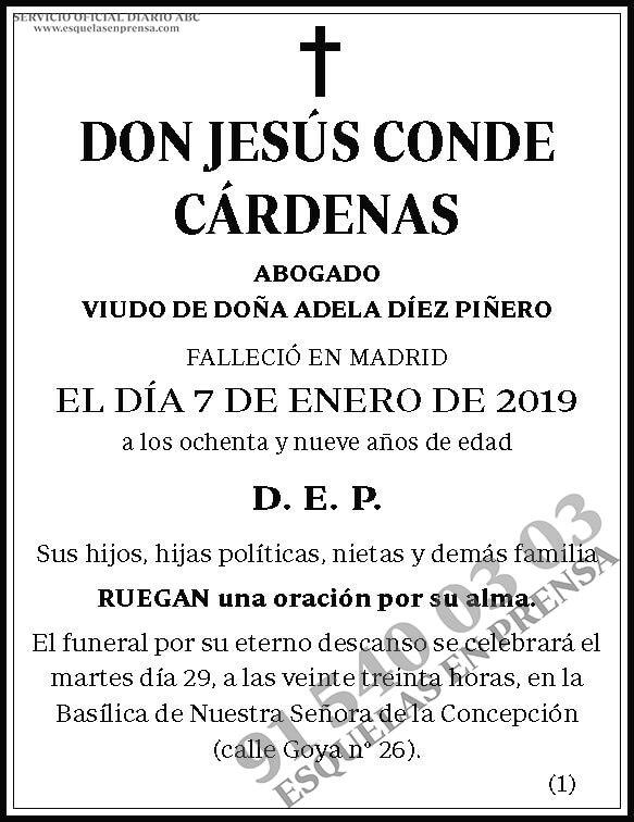 Jesús Conde Cárdenas