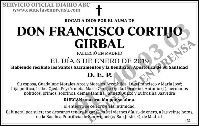Francisco Cortijo Girbal