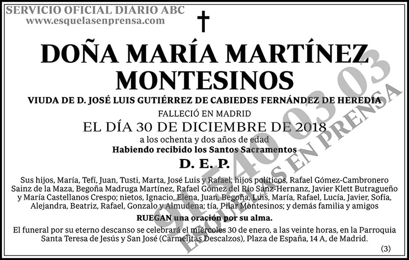 María Martínez Montesinos