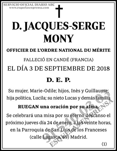 Jacques-Serge Mony