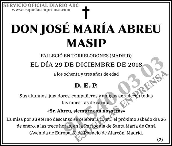José María Abreu Masip