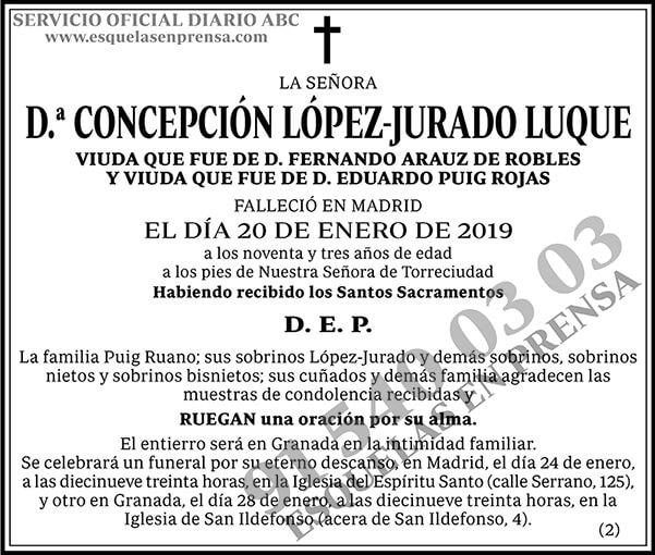 Concepción López-Jurado Luque