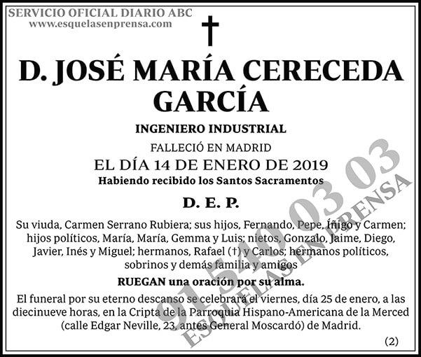 José María Cereceda García