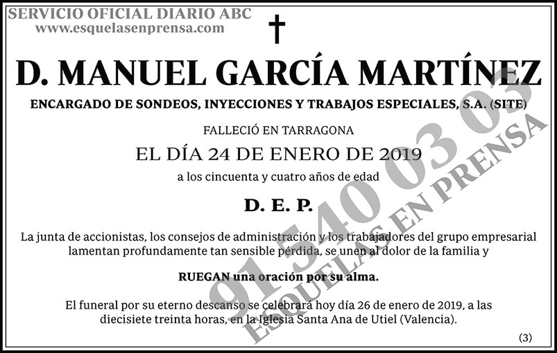 Manuel García Martínez