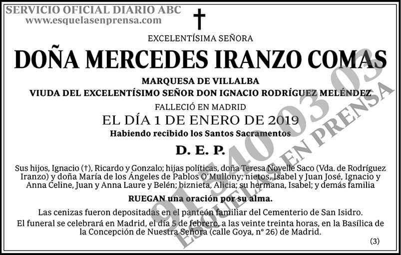 Mercedes Iranzo Comas