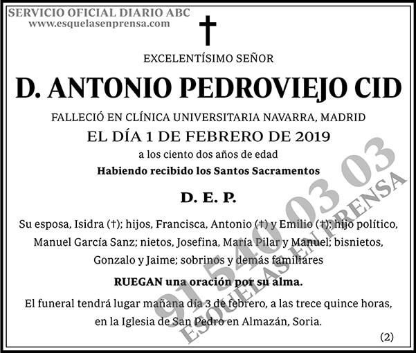 Antonio Pedroviejo Cid