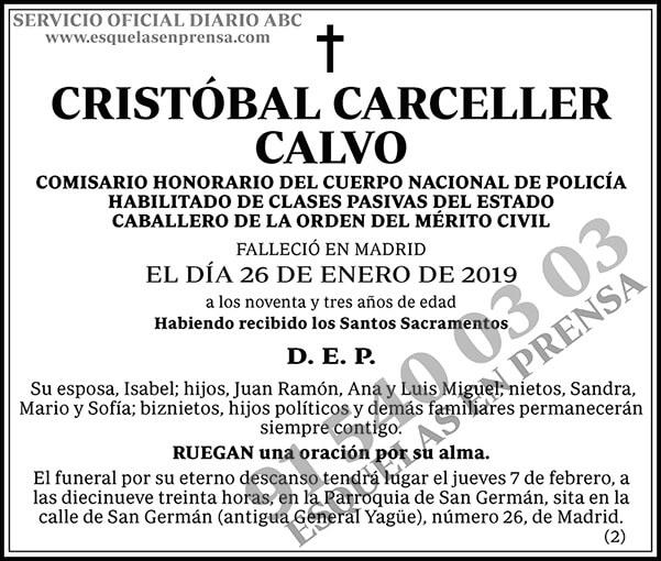 Cristóbal Carceller Calvo