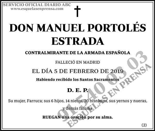 Manuel Portolés Estrada