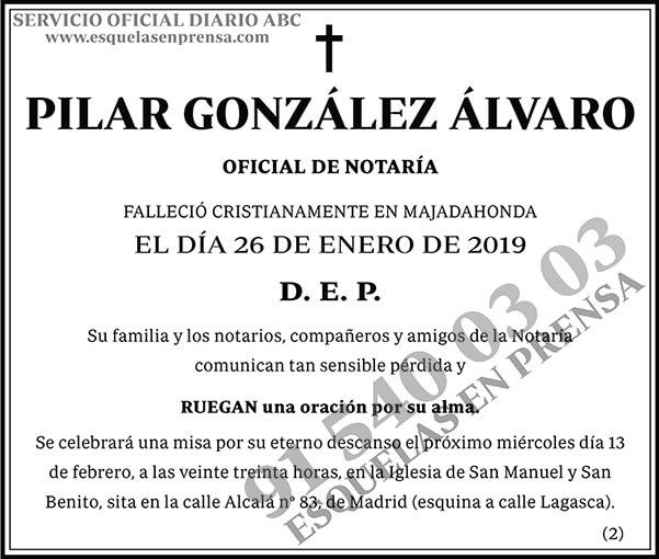 Pilar González Álvaro