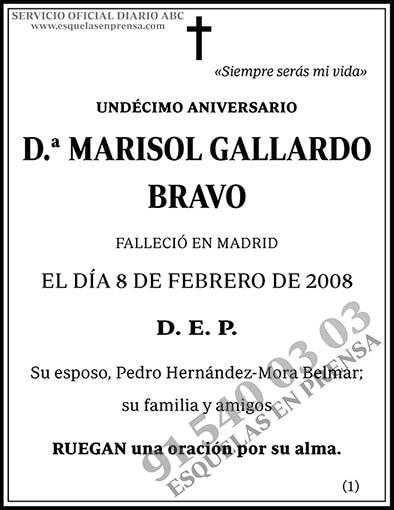 Marisol Gallardo Bravo