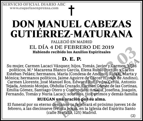 Manuel Cabezas Gutiérrez-Maturana