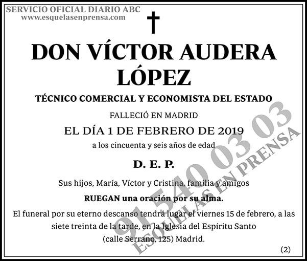 Víctor Audera López