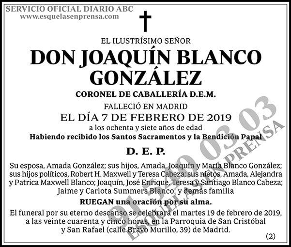 Joaquín Blanco González