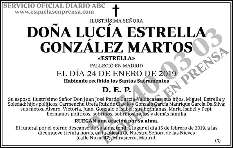 Lucía Estrella González Martos
