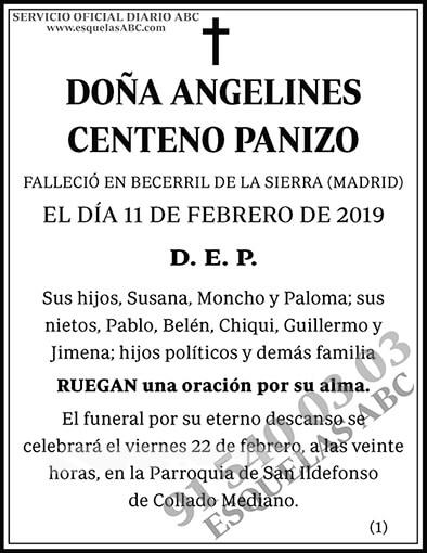 Angelines Centeno Panizo