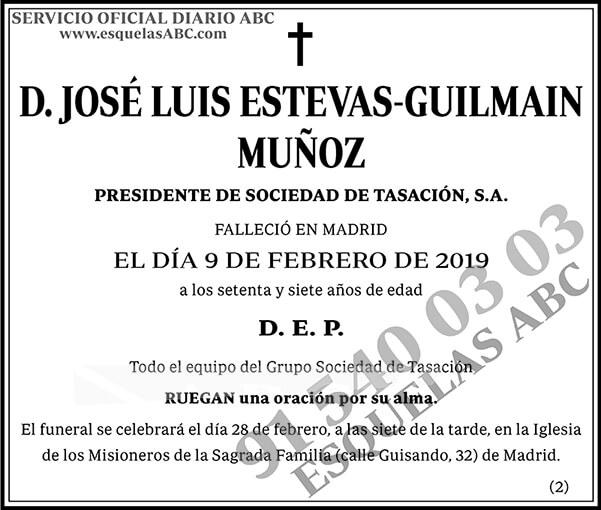 José Luis Estevas-Guilmain Muñoz
