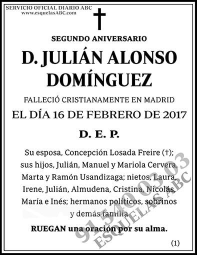 Julián Alonso Domínguez