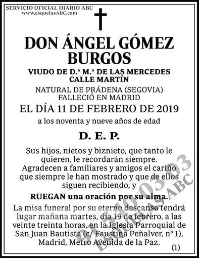 Ángel Gómez Burgos