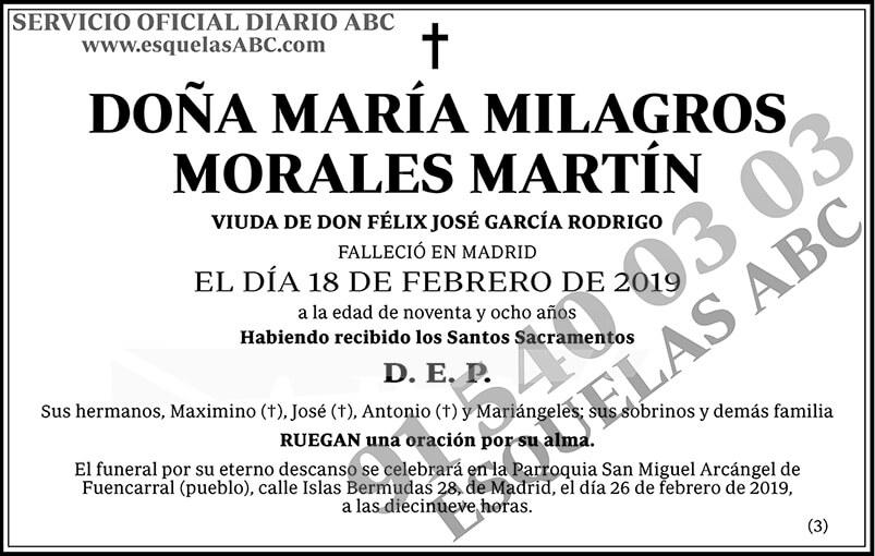 María Milagros Morales Martín
