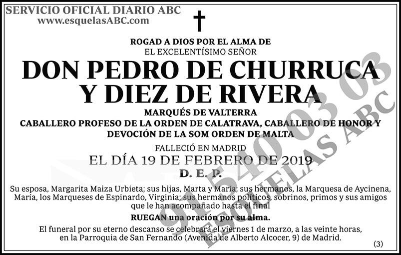 Pedro de Churruca y Diez de Rivera
