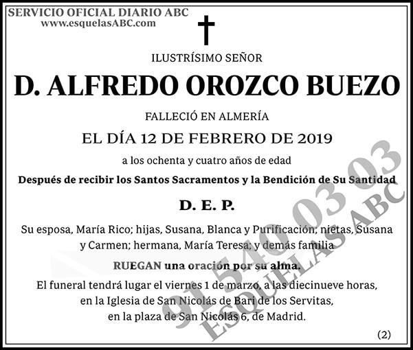Alfredo Orozco Buezo