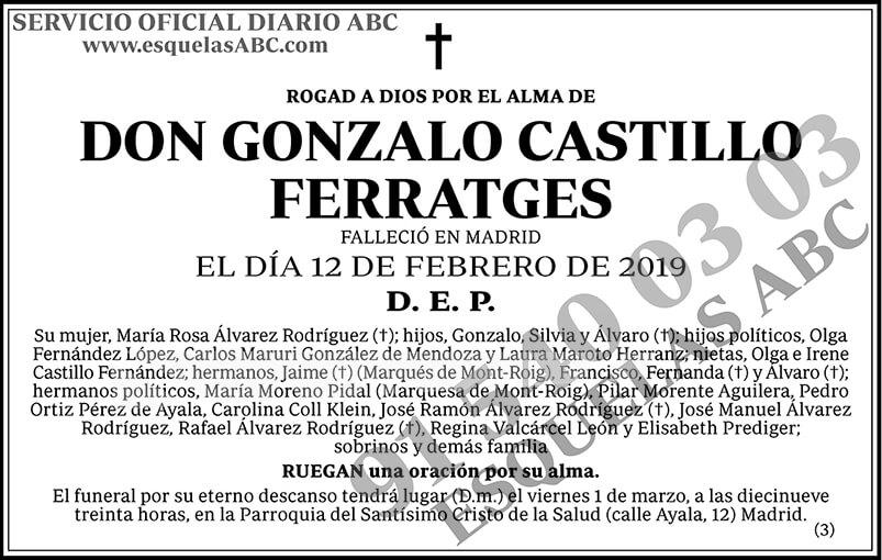 Gonzalo Castillo Ferratges