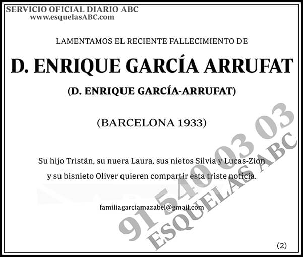 Enrique García Arrufat