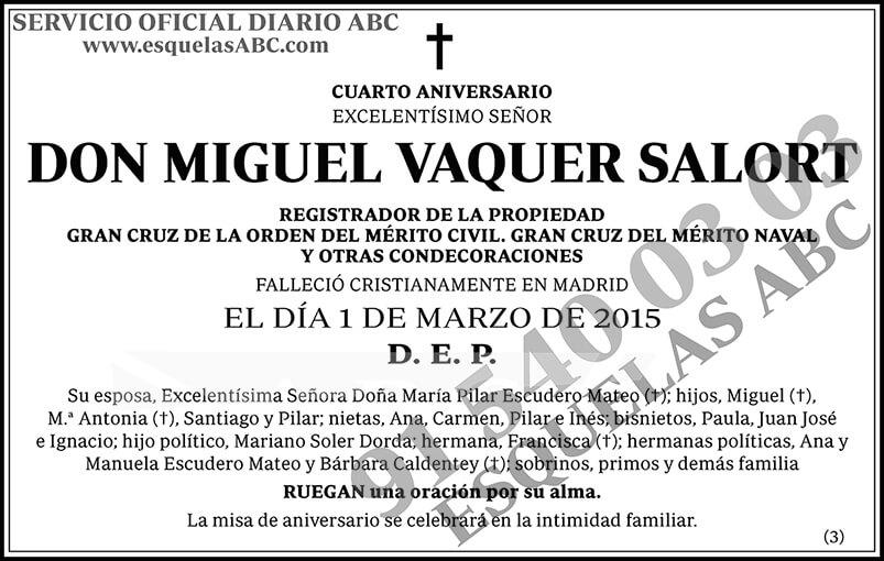 Miguel Vaquer Salort