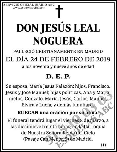 Jesús Leal Noguera