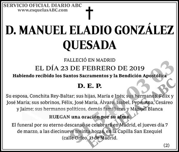Manuel Eladio González Quesada