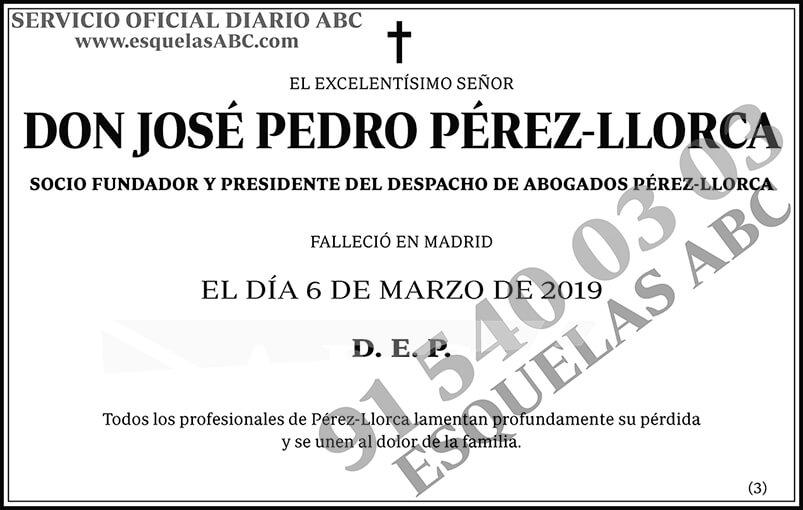 José Pedro Pérez-Llorca