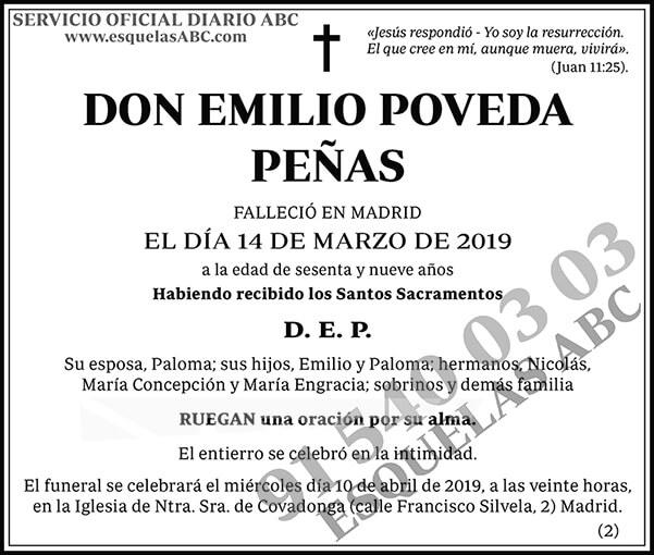 Emilio Poveda Peñas