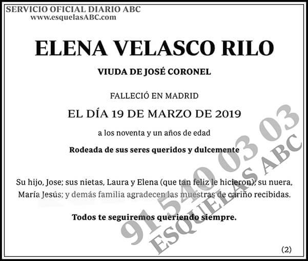 Elena Velasco Rilo