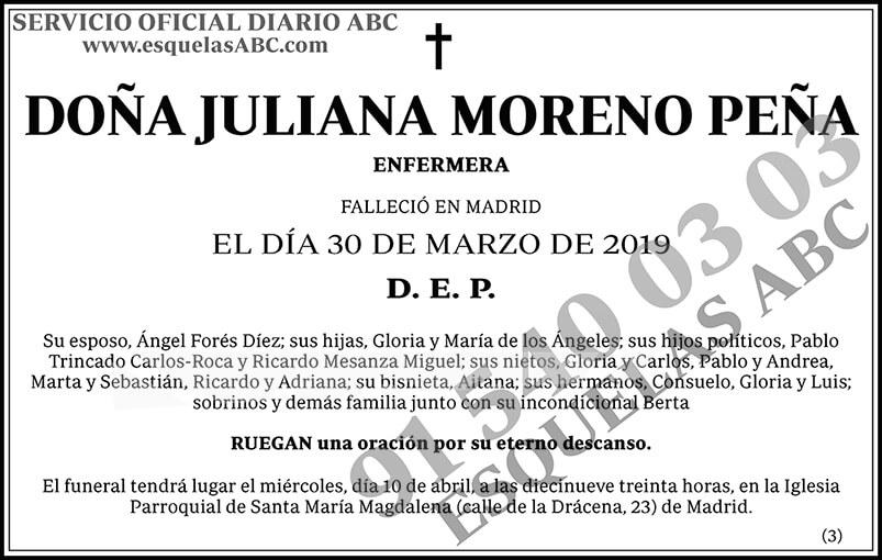 Juliana Moreno Peña