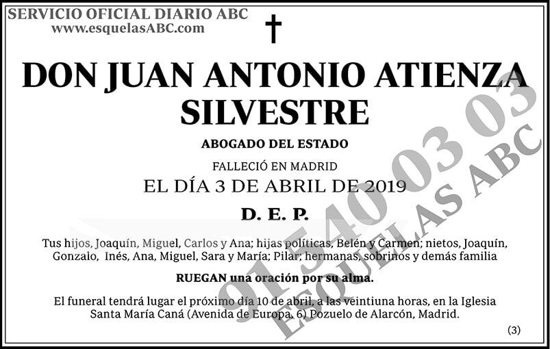 Juan Antonio Atienza Silvestre