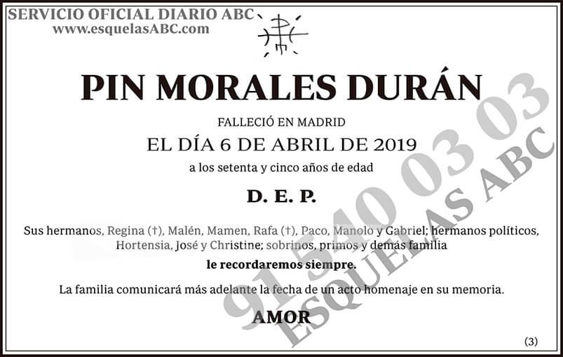 Pin Morales Durán