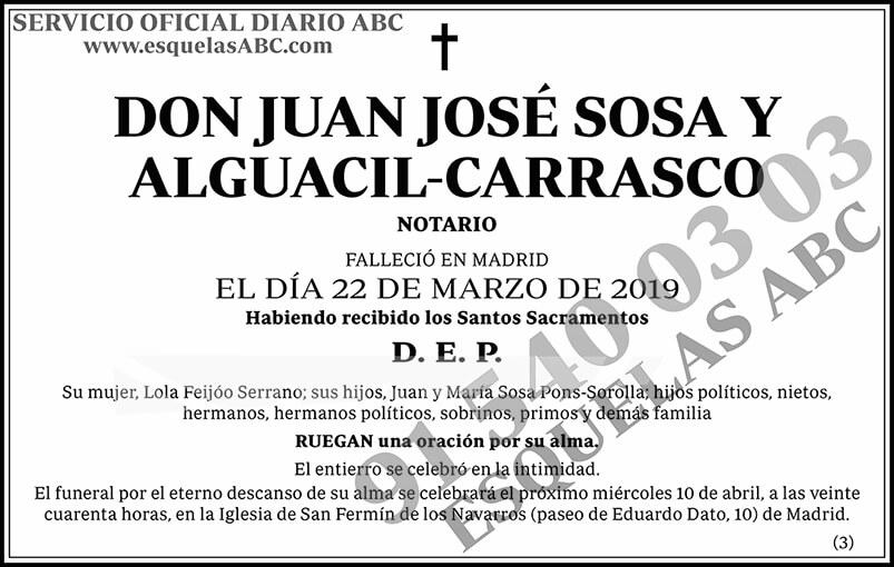 Juan José Sosa y Alguacil-Carrasco