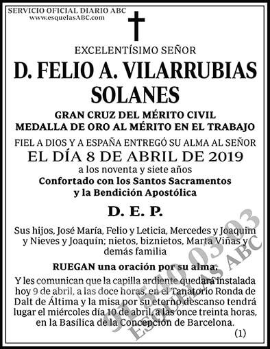 Felio A. Vilarrubias Solanes
