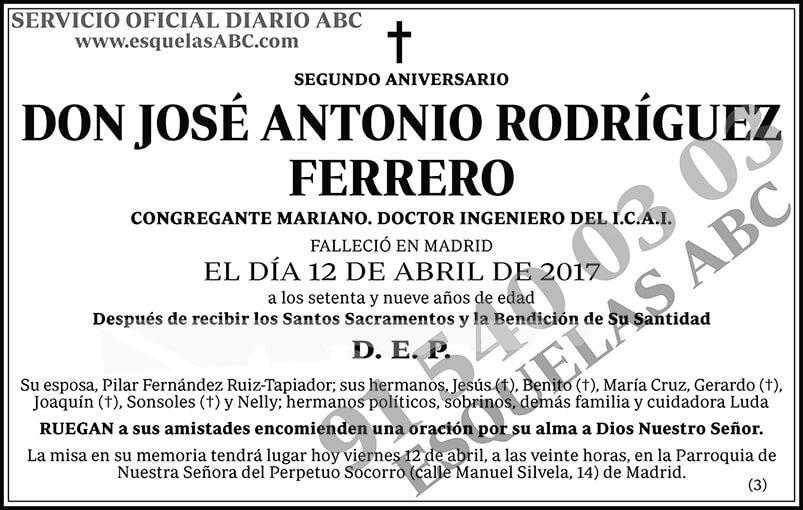 José Antonio Rodríguez Ferrero