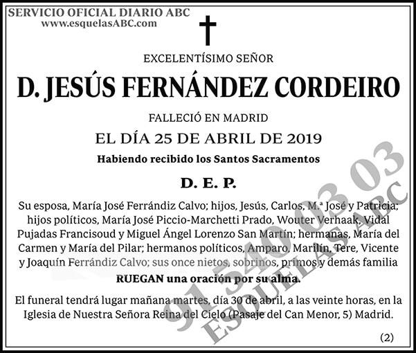 Jesús Fernández Cordeiro