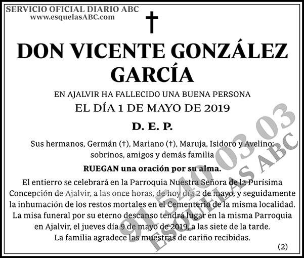 Vicente González García