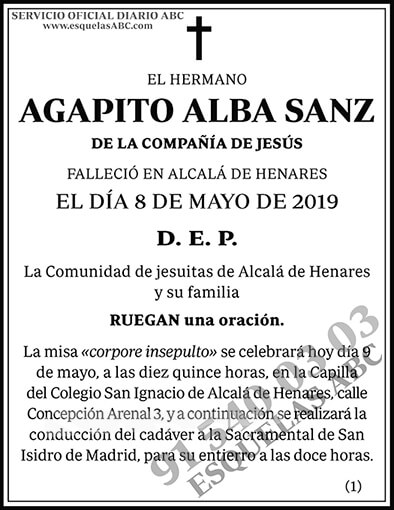 Agapito Alba Sanz