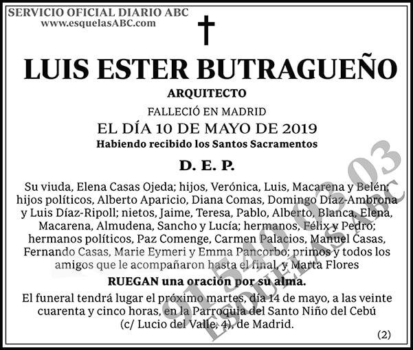 Luis Ester Butragueño