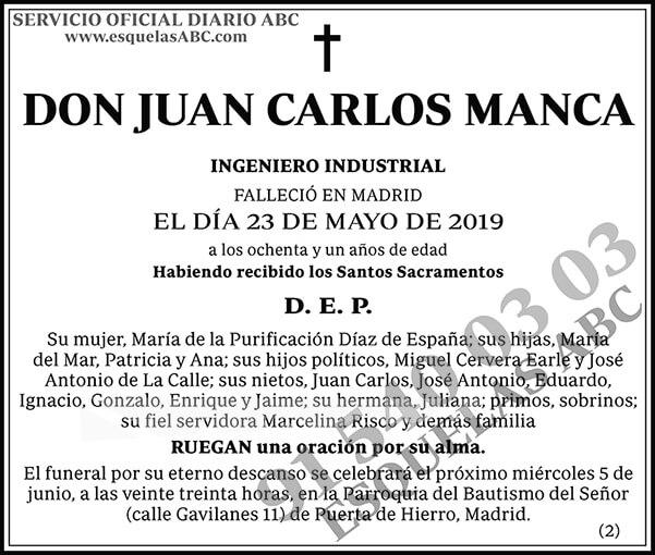 Juan Carlos Manca