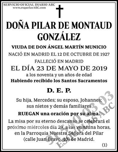 Pilar de Montaud González