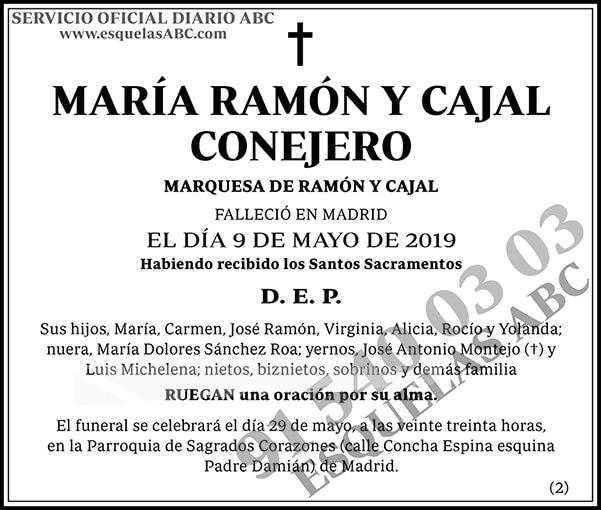 María Ramón y Cajal Conejero