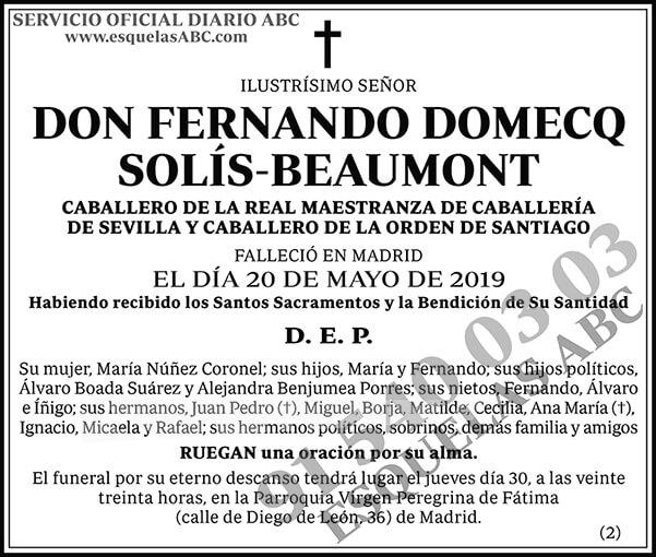 Fernando Domecq Solís-Beaumont